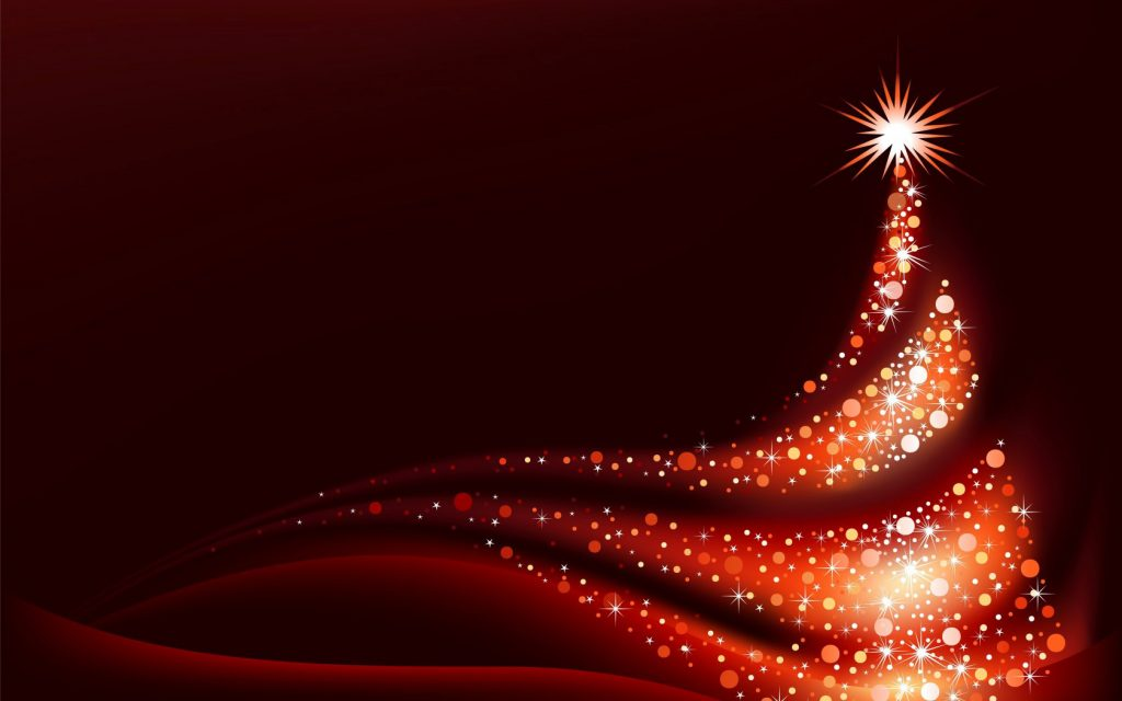 Red_Christmas_Background_with_Red_Christmas_Tree
